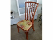 Chaise Manosque Rouge Chine -